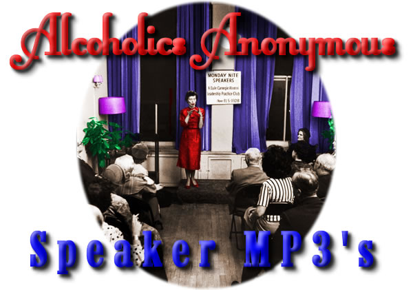 alcoholics anonymous speaker mp3's